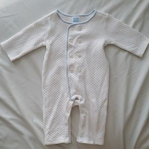 Janie and Jack quilted coverall